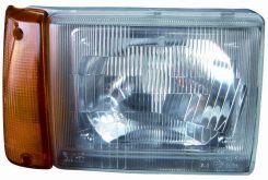 LHD Headlight Fiat Panda 750 1986-2003 Left Side LPB672