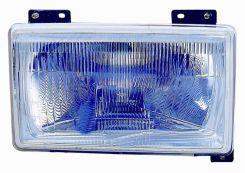 LHD Headlight Fiat Ducato 1990-1993 Right Side
