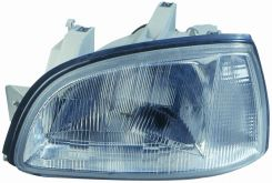 LHD Headlight Renault Clio 1996-1998 Right Side