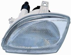 LHD Headlight Fiat Seicento 1998-2000 Left Side Electric Hydraulic