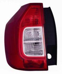 Taillight Dacia Logan 2013-2016 Right Side White-Red Mcv